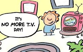 no more tv day