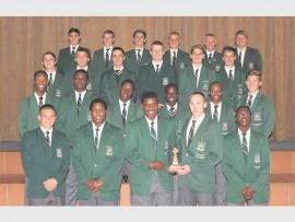 Die o/16 rugbyspan is ook aangewys as toernooiwenners tydens die April vakansie.
