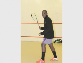Asande Mahaye is determined to clinch a win at the Inter-Provincial Tournament.