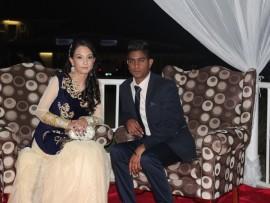 Naisha Ramsaroop and Niven Hannuman.