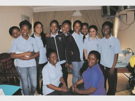 The St Dominic's Academy's Leave No Girl Behind International Power Circle.