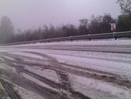 Majuba Pass had been closed due to snow.