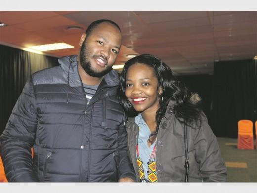 Simele Shange and Massello Ramathe.