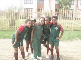 Enzo Jiyane, Zenkosi Mpungose, Naledi Sibisi, Lithemba Zulu and Awande Mbatha took time off to pose.