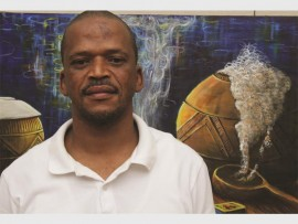 Mlungisi Mbele's work is mainly narrative.