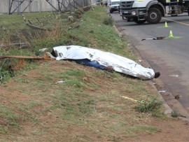The man was pronounced dead on-scene.