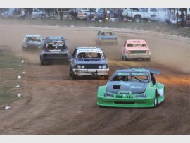 Pieter Bester leads the pack in the mighty two-litres division.