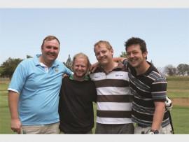 Deon van Rooyen, Sergio Vermeulen, Riaan Erasmus Jr and J.C van der Westhuizen.