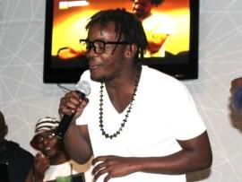 Musician Bantubonke 'KayAiDee' Kubheka performing at an event.
