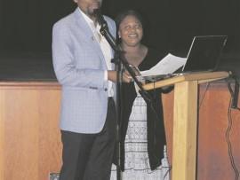 District Mayor, Doctor Musa Ngubane and Programme Director, Mzuwandile Xaba.