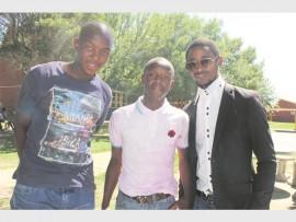 Melusi Ndebele, John Madlala and Siphesile Sithole.