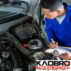 Kadbro Testing Station Tel: 034-315-2748