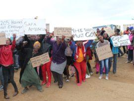 ward 25 protest