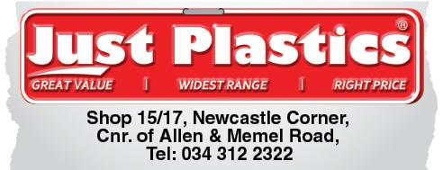 Just Plastics Tel: 034-312-2322