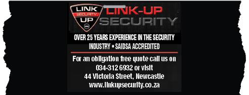 Link Up Security Tel: 034-312-6932