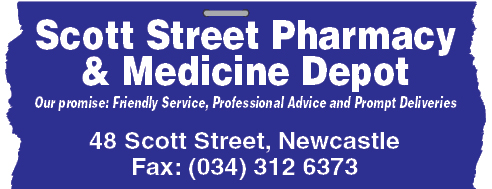 Scott Street Pharmacy Tel: 034-312-6373