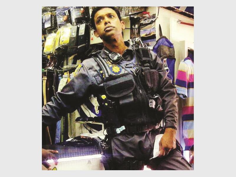 Tribute to Warrant Officer Sascha Naidoo by former Newcastle Advertiser journalist, Talha Randeree: