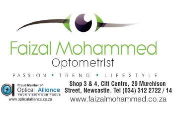 Faizal Mohammed Tel: 034-312-2722