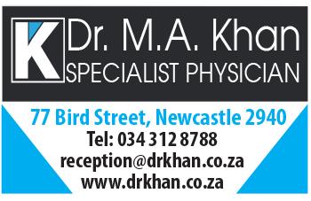 Dr M.A. Khan Tel: 034-312-8788
