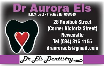 Dr Aurora Els Tel: 034-315-1155