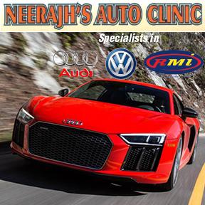 Neerajs Auto Clinic Tel:034-312-5600