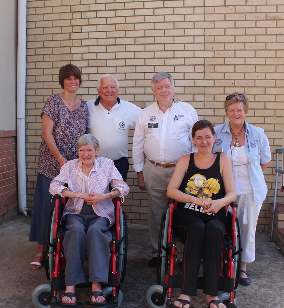 Majuba Rotary Gets People Mobile With Wheelchairs