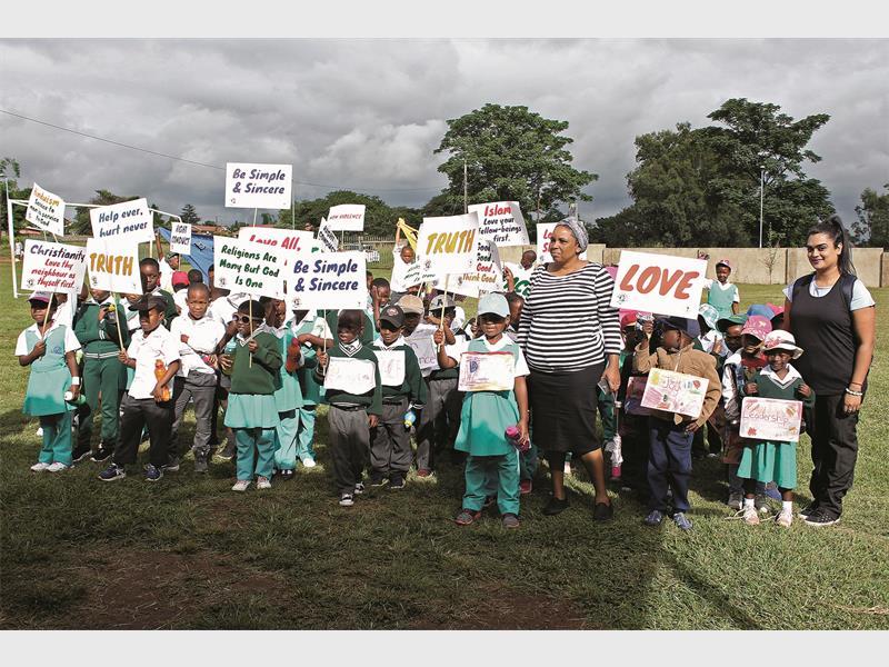 GALLERY: Sathya Sai School walks for values | Newcastle Advertiser