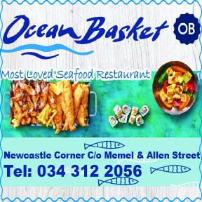 Ocean Basket Tel: 0343122056