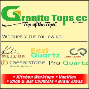 Granite Tops Tel: 034 375 6248