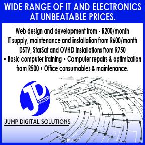 Jump Didgital Solutions Tel: 083 453 8719