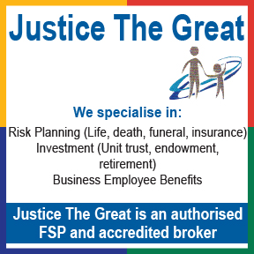 Justice The Great Tel: 034 312 1105