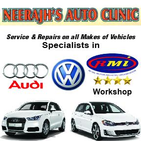 Neerajh's Auto Clinic Tel: 034 312 5600