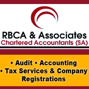 RBCA & Associates Tel: 034 312 1099