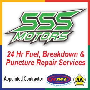SSS Motors Tel: 034 312 3785