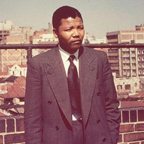 A young Nelson Mandela.  Photo: Ahmed Kathrada Foundation