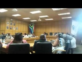 Chaotic scenes as Umzinyathi Council attempts to elect new Mayor