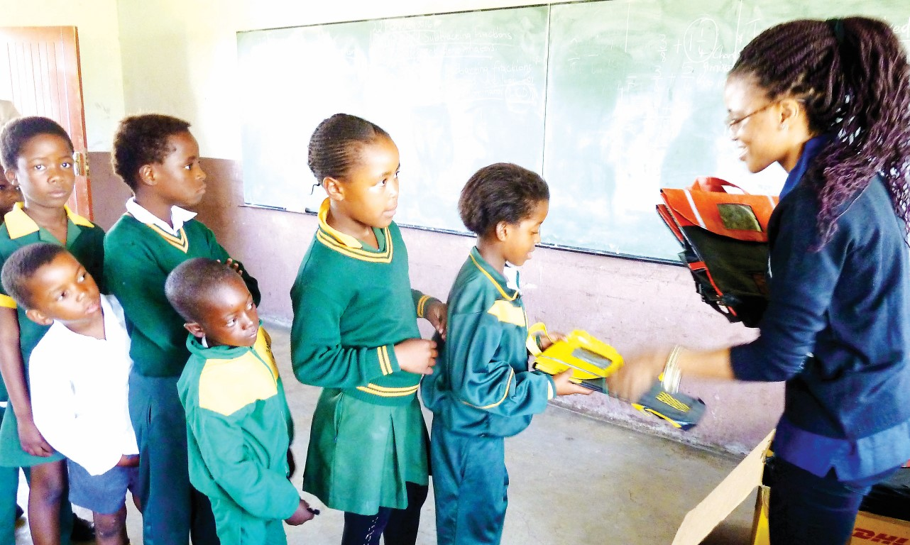 Bags of hope for rural primary school children thanks to