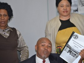 IFP Councillors PB Ngcobo, Bongiwe Mbatha, M Yengwa.