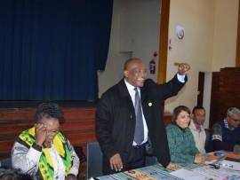 Mayor Thulani Mahaye