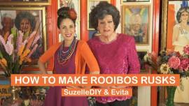 SuzelleDIY – How to make Rooibos Rusks with Evita Bezuidenhout
