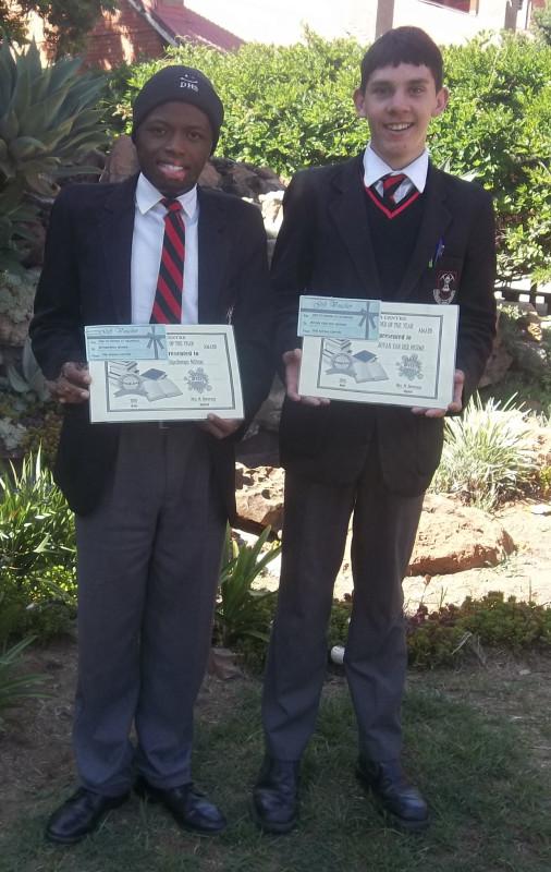 Siyabonga Ndima and Juvan van der Merwe.