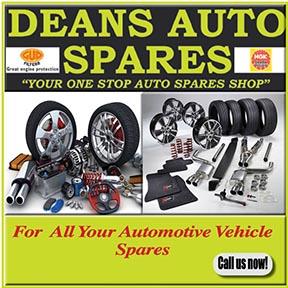 Deans Auto Spares 034 218 2846