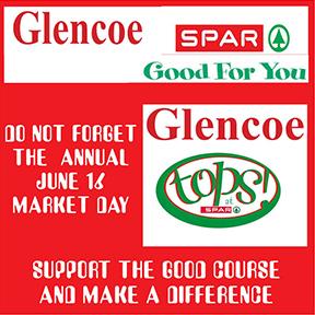 Glencoe Spar and Tops Tel: 034-393-2044