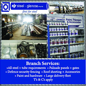 NJR Steel Glencoe Tel: 034-393-1146