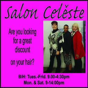 Salon Celeste Tel: 034-393-3492