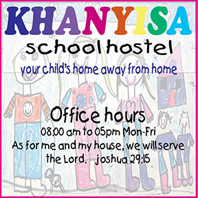Khanyisa School Hostel: Tel:034-393-2002