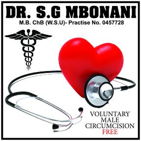 Dr SG Mbonani 034-212-1039