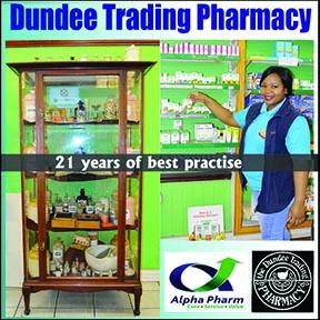 Dundee Trading Pharmacy 034-218-1683