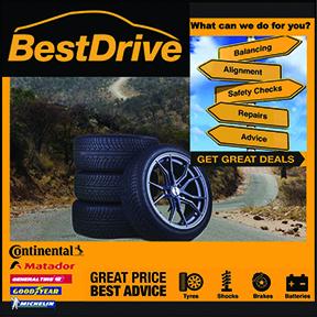BestDrive Tyres 034-212-5150