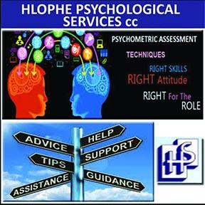 Hlophe Psychological Services 034-212-1533